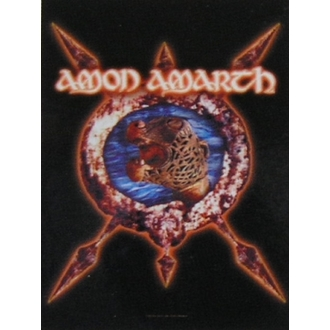 bandiera Amon Amarth HFL 828, HEART ROCK, Amon Amarth
