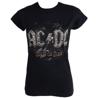 t-shirt metal donna AC-DC - Rock Or Bust - LIVE NATION, LIVE NATION, AC-DC