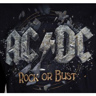 felpa con capuccio uomo AC-DC - Rock Or Bust - LIVE NATION, LIVE NATION, AC-DC