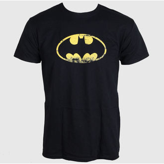 t-shirt film uomo Batman - Distressed Logo - LIVE NATION, LIVE NATION