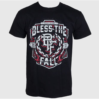 t-shirt metal uomo Bless The Fall - Crest - LIVE NATION, LIVE NATION, Bless The Fall