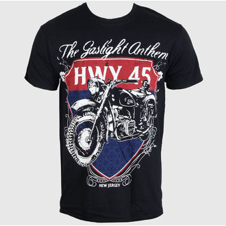 t-shirt metal uomo The Gaslight Anthem - HMY 45 - LIVE NATION, LIVE NATION, The Gaslight Anthem
