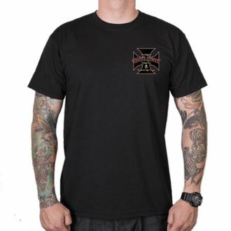 Maglietta da uomo BLACK HEART - VINTAGE IRON - NERO, BLACK HEART