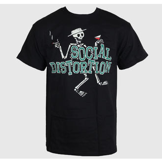 t-shirt metal uomo Social Distortion - Letterman Skully - BRAVADO, BRAVADO, Social Distortion
