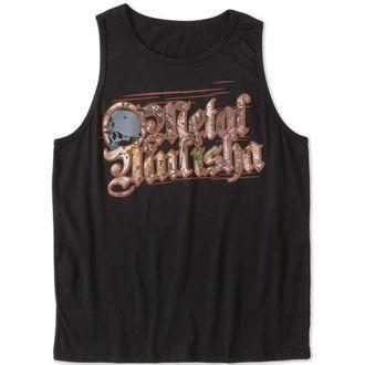 t-shirt uomo METAL MULISHA - THREAT - NR