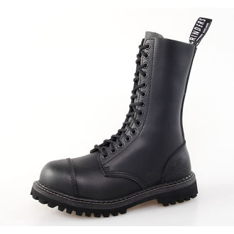 scarpe GRINDERS - 14dírkové - Araldo Derby - Nero