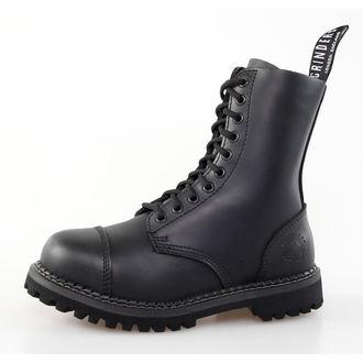 scarpe GRINDERS - 10dírkové - Cervo Derby - Nero