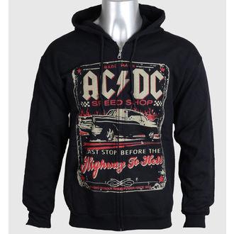 felpa con capuccio uomo AC-DC - Speed Shop - LIQUID BLUE, LIQUID BLUE, AC-DC
