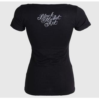 t-shirt hardcore donna - Charlie Medina - BLACK MARKET