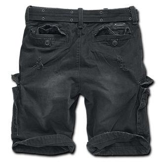 pantaloncini uomo Brandit - Guscio Valle Heavy Vintage - Nero, BRANDIT