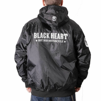Giacca da uomo BLACK HEART - BARKER - NERO, BLACK HEART