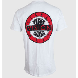 t-shirt street uomo - White - VISION, VISION