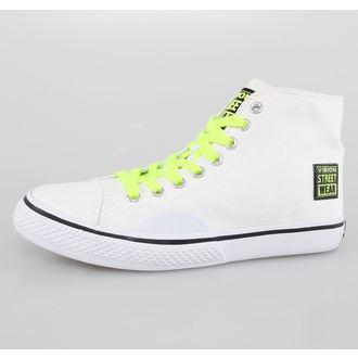 scarpe da ginnastica alte donna - Canvas HI - VISION, VISION