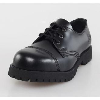scarpe NEVERMIND - 3 fori - Nero Polido, NEVERMIND
