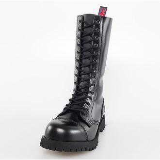 scarpe NEVERMIND - 14 fori - Nero Polido, NEVERMIND