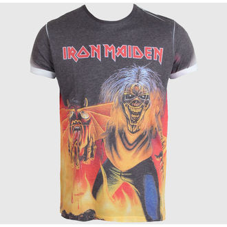 t-shirt metal uomo Iron Maiden - The Number of the Beast - ROCK OFF, ROCK OFF, Iron Maiden