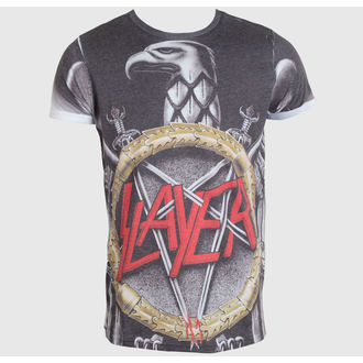 t-shirt metal uomo Slayer - Silver Eagle - ROCK OFF, ROCK OFF, Slayer
