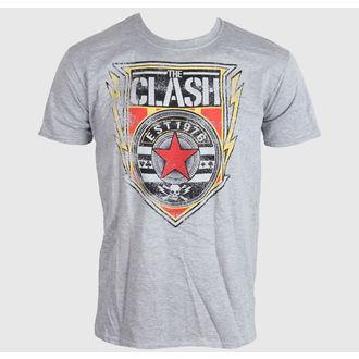 t-shirt metal uomo Clash - Shield 1976 - LIVE NATION, LIVE NATION, Clash