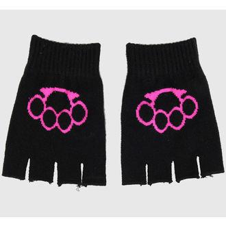 guanti senza dita Hope - Nero/Rosa