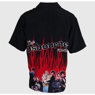 camicia uomo Ozzy Osbourne - Famiglia - Nero, Ozzy Osbourne