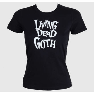 t-shirt donna - Living Death Goth - BAT ATTACK, BAT ATTACK