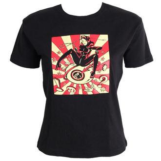 t-shirt donna DEVIL RAGAZZA- Nero, NNM