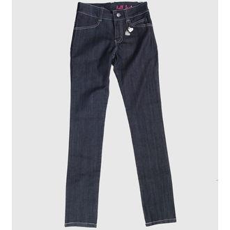 pantaloni donna HELL BUNNY - Blu, HELL BUNNY
