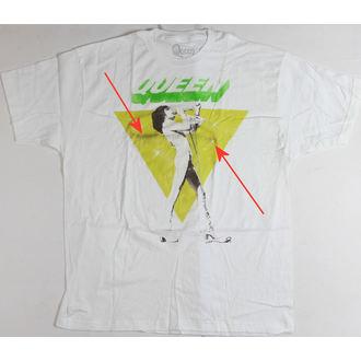 t-shirt uomo Queen - Freddy Canta - BRAVADO - QEN1003, BRAVADO, Queen