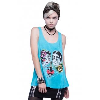 top donna IRON FIST - Star Crossed - Blu, IRON FIST