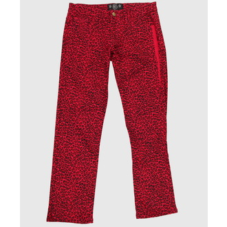pantaloni donna COLLECTIF - Red