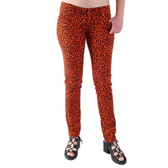 pantaloni donna 3RDAND56th - Leopard, 3RDAND56th
