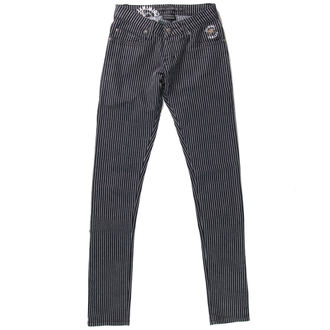 pantaloni donna PENALE DANNI - BLK / WHT