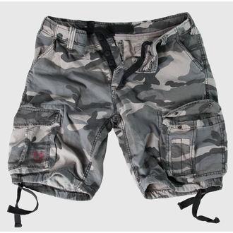 pantaloncini uomo SURPLUS - Airborne Vintage - Nightcamo - 07-3598-31