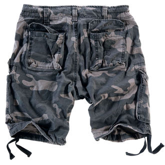 pantaloncini uomo SURPLUS - Airborne annata - Nero Come, SURPLUS