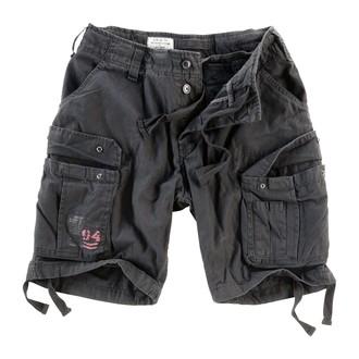 pantaloncini uomo SURPLUS - Airborne Vintage - Nero, SURPLUS