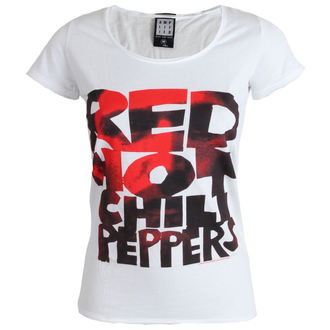 t-shirt metal donna Red Hot Chili Peppers - Type Face Fill - AMPLIFIED, AMPLIFIED, Red Hot Chili Peppers