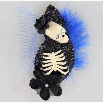 fermaglio per cperpelli Skeleton Blu / Nero