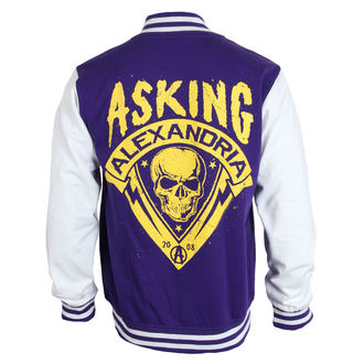 felpa senza cappuccio uomo Asking Alexandria - Skull Shield - PLASTIC HEAD, PLASTIC HEAD, Asking Alexandria