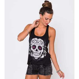 top donna METAL MULISHA - Zuccherino Skull, METAL MULISHA