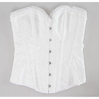 corsetto donna DRACULA CLOTHING - White, DRACULA CLOTHING
