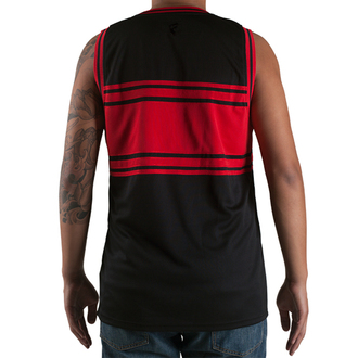 t-shirt uomo (maglia) FAMOUS STARS & STRAPS - Redline - Nero/Rosso, FAMOUS STARS & STRAPS