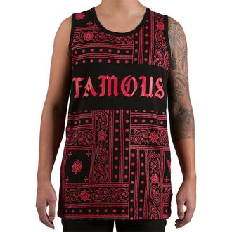 t-shirt uomo FAMOUS STARS & STRAPS - Redrum - Nero