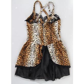 vestito donna BLACK PISTOL - Punk - Leopard, BLACK PISTOL