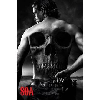 poster Sons Of Anarchy - Skull - PYRAMID POSTER, PYRAMID POSTERS
