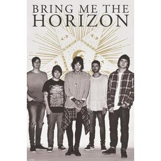 poster Bring Me The Horizon - Star - PYRAMID POSTER, PYRAMID POSTERS, Bring Me The Horizon
