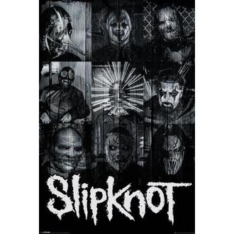 poster Slipknot - Maschere - PYRAMID POSTER, PYRAMID POSTERS, Slipknot