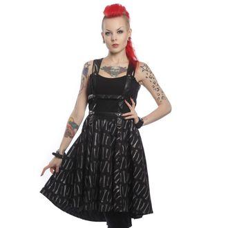 vestito donna POIZEN INDUSTRIES - Bone Garden Srap, VIXXSIN