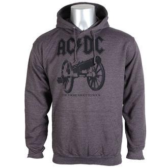 felpa con capuccio uomo AC-DC - For Those About To Rock - PLASTIC HEAD, PLASTIC HEAD, AC-DC