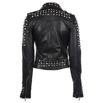 giacca di pelle donna - Studded - KILLSTAR, KILLSTAR