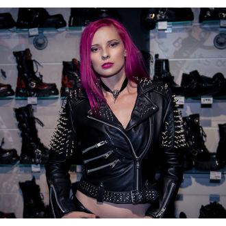 giacca di pelle donna - Spike - KILLSTAR, KILLSTAR